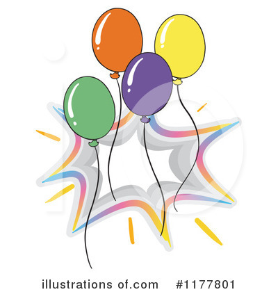 Birthday Clipart #1177801 by Graphics RF