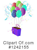 Balloons Clipart #1242155 by Graphics RF