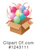 Balloons Clipart #1243111 by Graphics RF