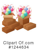 Balloons Clipart #1244634 by Graphics RF