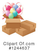 Balloons Clipart #1244637 by Graphics RF