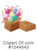 Balloons Clipart #1244643 by Graphics RF