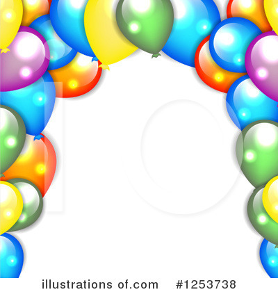 Balloons Clipart #1253738 by vectorace