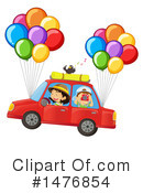 Balloons Clipart #1476854 by Graphics RF