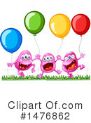 Balloons Clipart #1476862 by Graphics RF