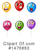 Balloons Clipart #1476863 by Graphics RF