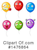 Balloons Clipart #1476864 by Graphics RF