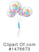 Royalty-Free (RF) Balloons Clipart Illustration #1476873