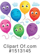 Balloons Clipart #1513145 by visekart