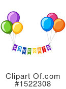 Balloons Clipart #1522308 by Graphics RF