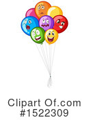 Balloons Clipart #1522309 by Graphics RF