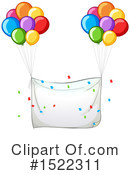 Balloons Clipart #1522311 by Graphics RF