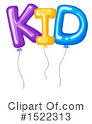 Balloons Clipart #1522313 by Graphics RF