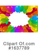 Balloons Clipart #1637789 by dero