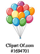 Balloons Clipart #1694701 by Graphics RF