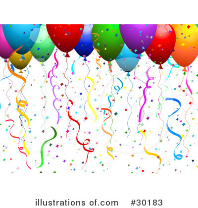Balloons Clipart #30183 by KJ