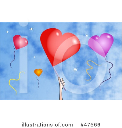 Royalty-Free (RF) Balloons Clipart Illustration by Prawny - Stock Sample #47566
