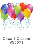 Balloons Clipart #50079 by Pushkin