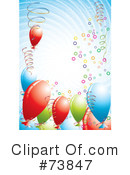 Balloons Clipart #73847 by MilsiArt