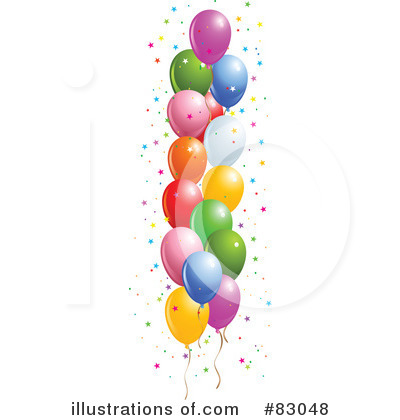 Balloons Clipart #83048 by Pushkin