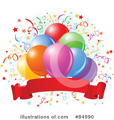 Birthday Party Clipart #84990 by Pushkin