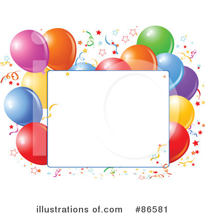 Birthday Party Clipart #86581 by Pushkin