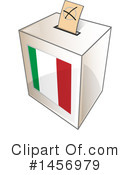 Ballot Box Clipart #1456979 by Domenico Condello