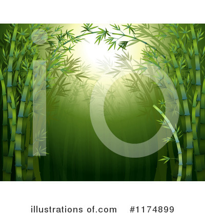Royalty-Free (RF) Bamboo Clipart Illustration by Graphics RF - Stock Sample #1174899