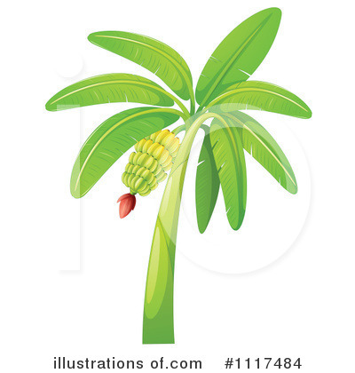 Royalty-Free (RF) Bananas Clipart Illustration by Graphics RF - Stock Sample #1117484