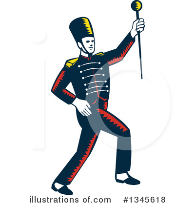 Marching Band Clipart #1345618 by patrimonio