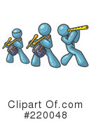Royalty-Free (RF) band Clipart Illustration #220048