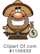 Royalty-Free (RF) bandito Clipart Illustration #1106939
