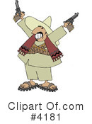 Royalty-Free (RF) bandito Clipart Illustration #4181