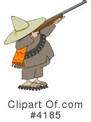Royalty-Free (RF) Bandito Clipart Illustration #4185