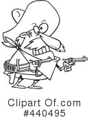 Royalty-Free (RF) bandito Clipart Illustration #440495