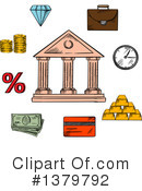 Banking Clipart #1379792 by Vector Tradition SM