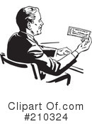 Royalty-Free (RF) Banking Clipart Illustration #210324