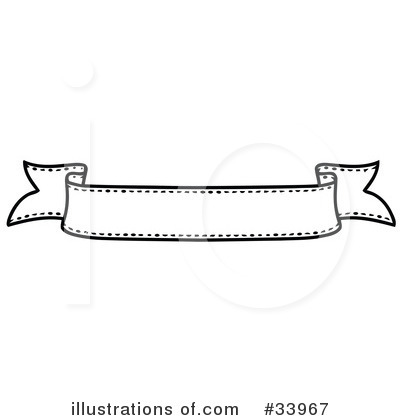 Royalty-Free (RF) Banner Clipart Illustration by C Charley-Franzwa - Stock Sample #33967