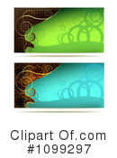 Royalty-Free (RF) Banners Clipart Illustration #1099297