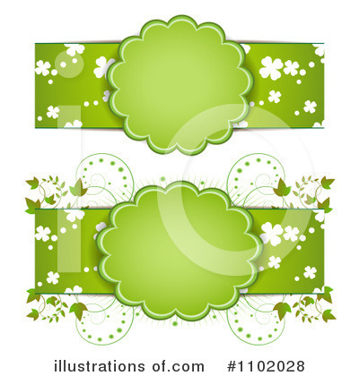 Clovers Clipart #1102028 by merlinul