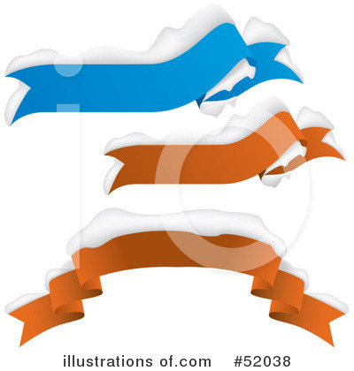Royalty-Free (RF) Banners Clipart Illustration by dero - Stock Sample #52038