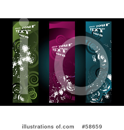 Banners Clipart #58659 by MilsiArt