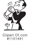 Royalty-Free (RF) Bar Clipart Illustration #1101491