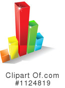 Royalty-Free (RF) Bar Graph Clipart Illustration #1124819