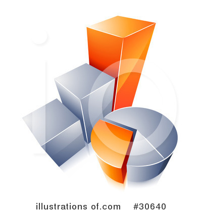 Bar Graph Clipart #30640 by beboy