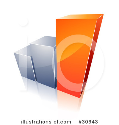 Bar Graph Clipart #30643 by beboy