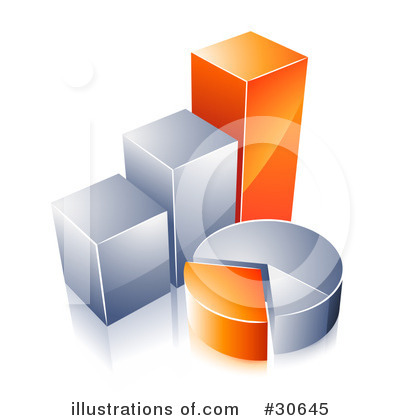 Bar Graph Clipart #30645 by beboy
