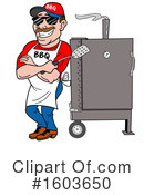 Barbecue Clipart #1603650 by LaffToon