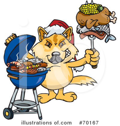 Dingo Clipart #70167 by Dennis Holmes Designs