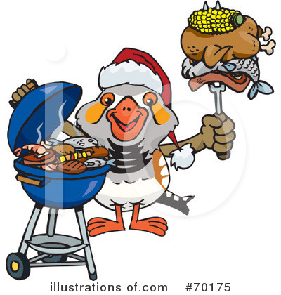 Royalty-Free (RF) Barbecue Clipart Illustration by Dennis Holmes Designs - Stock Sample #70175